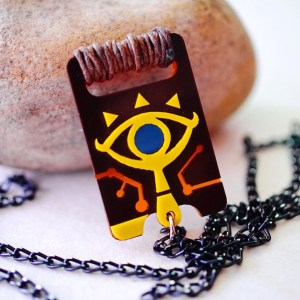 Legend Of Zelda Sheikah Slate Necklace