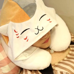Natsume's Book Of Friends Neck Pillow