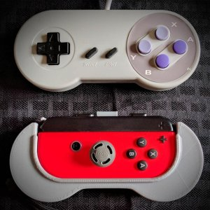 Nintendo Switch SNES Controller Grip