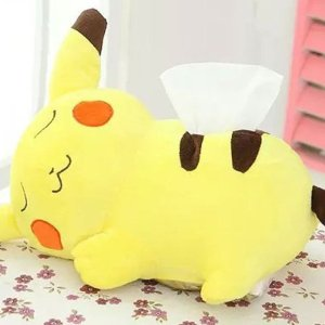 Pokemon Plush Pikachu Tissue Box Cover
