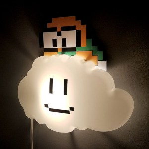 Super Mario Lakitu Night Light