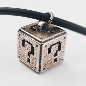 Super Mario Question Block Pendant