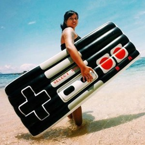 NES Controller Pool Float