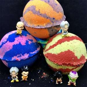 Dragon Ball Z Bath Bombs