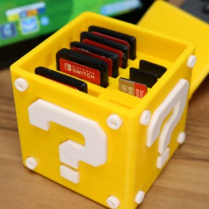 Super Mario Switch Cartridge Case