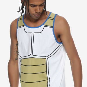 Dragon Ball Z Vegeta Tank Top