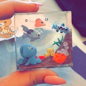Pokemon Resin Aquariums