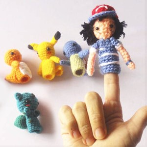 Pokemon Finger Puppets