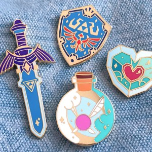 Legend Of Zelda Pins