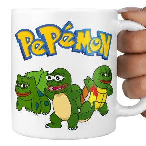 Pepe Pokemon Mug