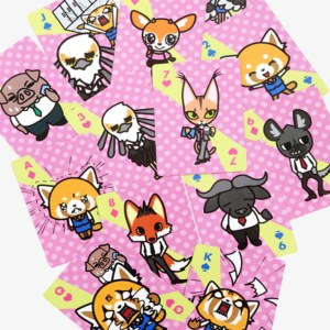 Aggretsuko Playing Cards