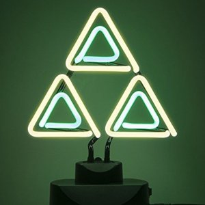 Legend Of Zelda Triforce Neon Light