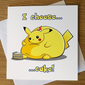 Pokemon Birthday Card