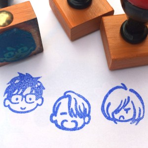 Yuri On Ice Stamps