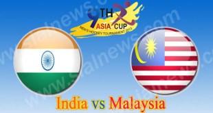 India vs Bangladesh 16th Hockey Match Asia Cup 2013