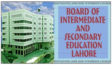 BISE Lahore Board 9th 10th Class Roll No Slips 2014 Download Online
