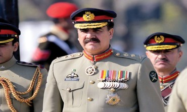Army Chief General Raheel leaves for Saudi Arabia on official tour