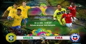Brazil vs Chile Football Match Live Streaming