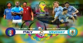 Italy vs Uruguay FIFA WOrld Cup 2014 Match Live Streaming