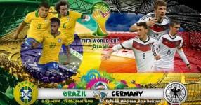 Brazil vs Germany 1st Semi Final Match Live Streaming