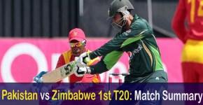 Pakistan vs Zimbabwe Match Result