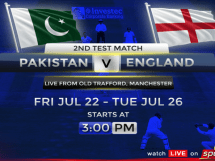 Pakistan vs England 2nd Test Match Live Online Streaming