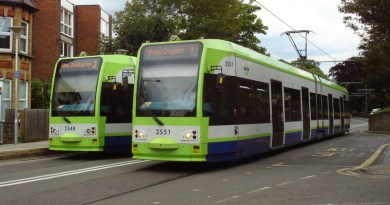 Trams in Croydon - photo by Julian Walker on Flickr