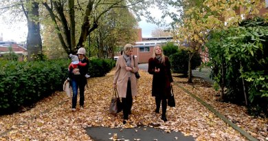 Visiting the Holloway Prison site