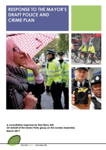 Police and Crime Plan response cover