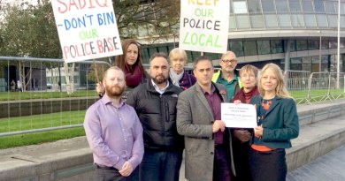 Appalled at Mayor's dismissal of public views on police front counters