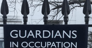 Property guardians sign