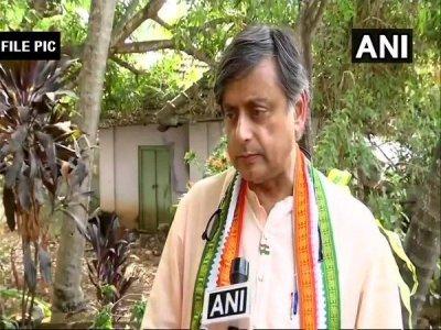 Shashi Tharoor moves EC against BJP