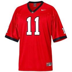 #11 Red Nike UGA Football Jersey