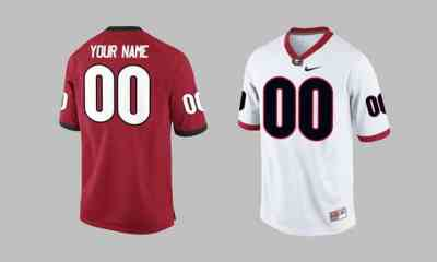Custom UGA Football Jerseys