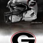 UGA Nike Pro Combat Helmet 1