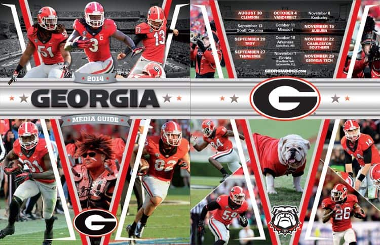 2014 UGA Football Media Guide