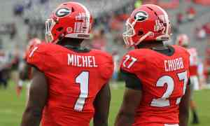Nick Chubb - Sony Michel