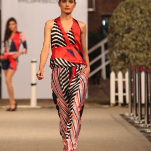 Maheen Karim at Porsche Polo Diaries Fashion Show. A multi-designer collection paying tribute to the historical game of Polo.