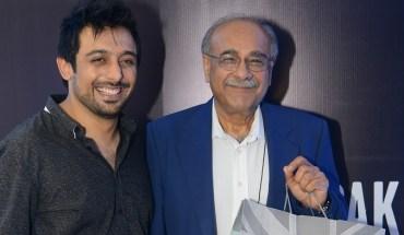 CEO of JS Retail, Saad Javed Akram with Najam Sethi