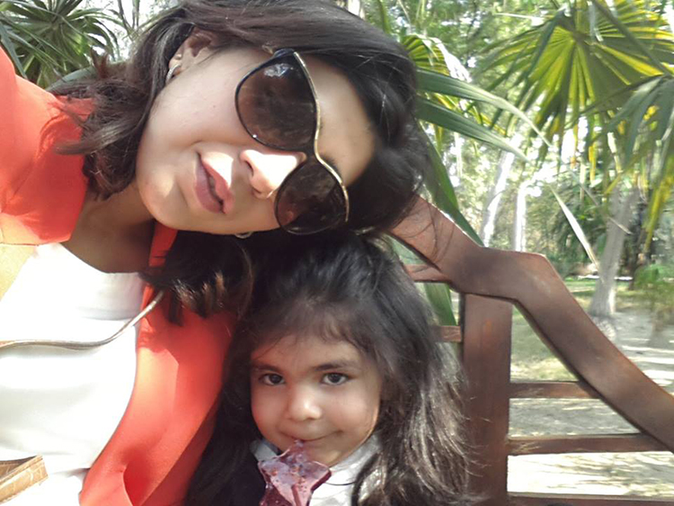 Sadaf Zarrar and her
