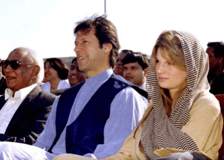 Imran-Khan-and-former-wife-Jemima-Khan-1996
