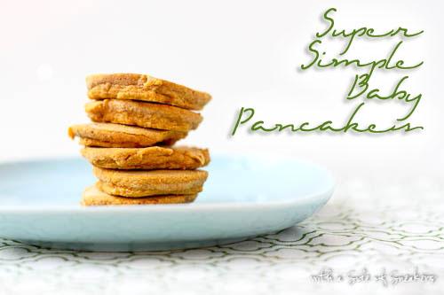 baby pancakes allergen free