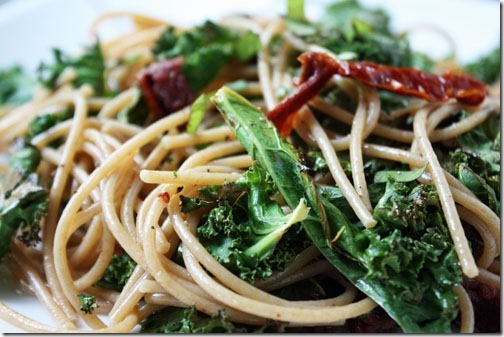 kale sundried tomato pasta recipe