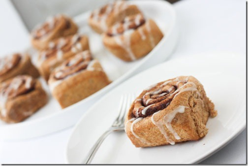 whole wheat cinnamon buns