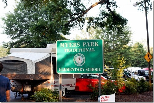 myers park traditional school