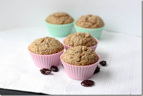 muffins with yogurt