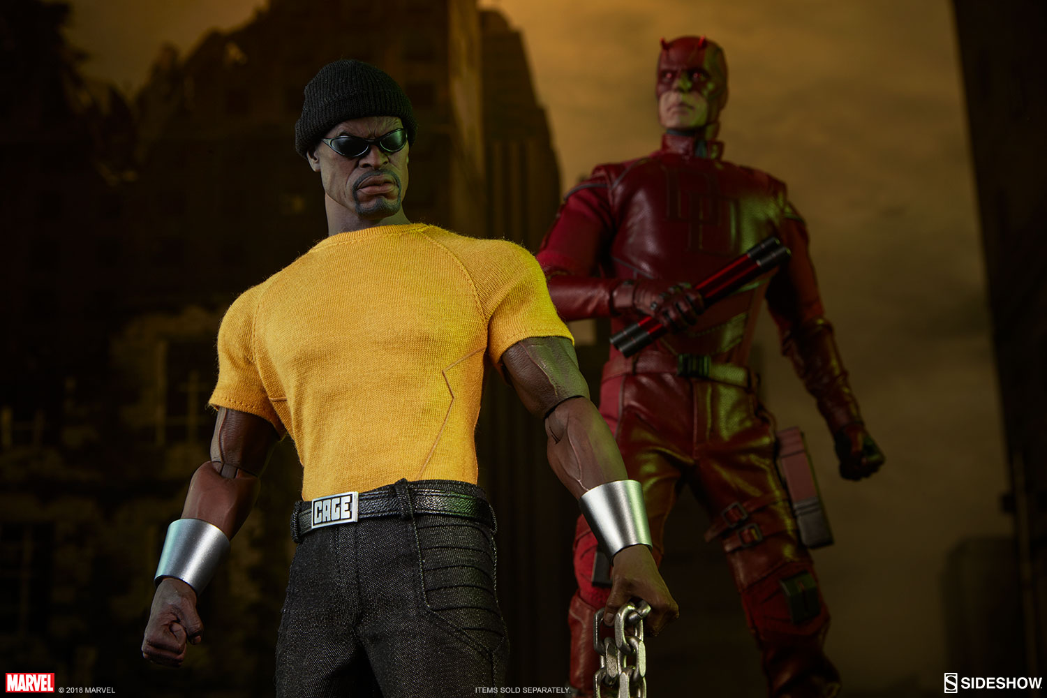Marvel Luke Cage Sixth Scale Figure by Sideshow Collectibles         Luke Cage Sixth Scale Figure
