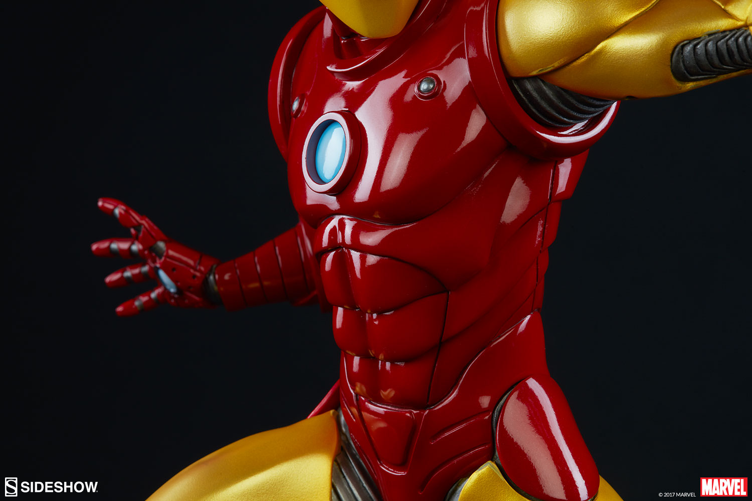 Marvel Iron Man Statue by Sideshow Collectibles   Sideshow Collectibles Iron Man Statue Iron Man Statue