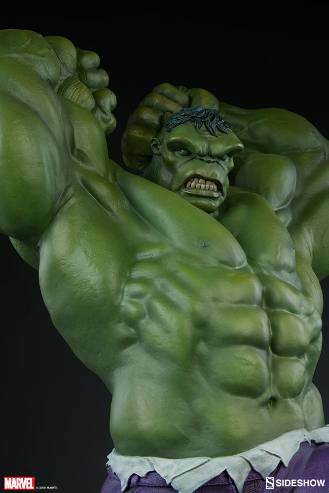 Marvel Hulk Statue by Sideshow Collectibles   Sideshow Collectibles Hulk Statue Hulk Statue