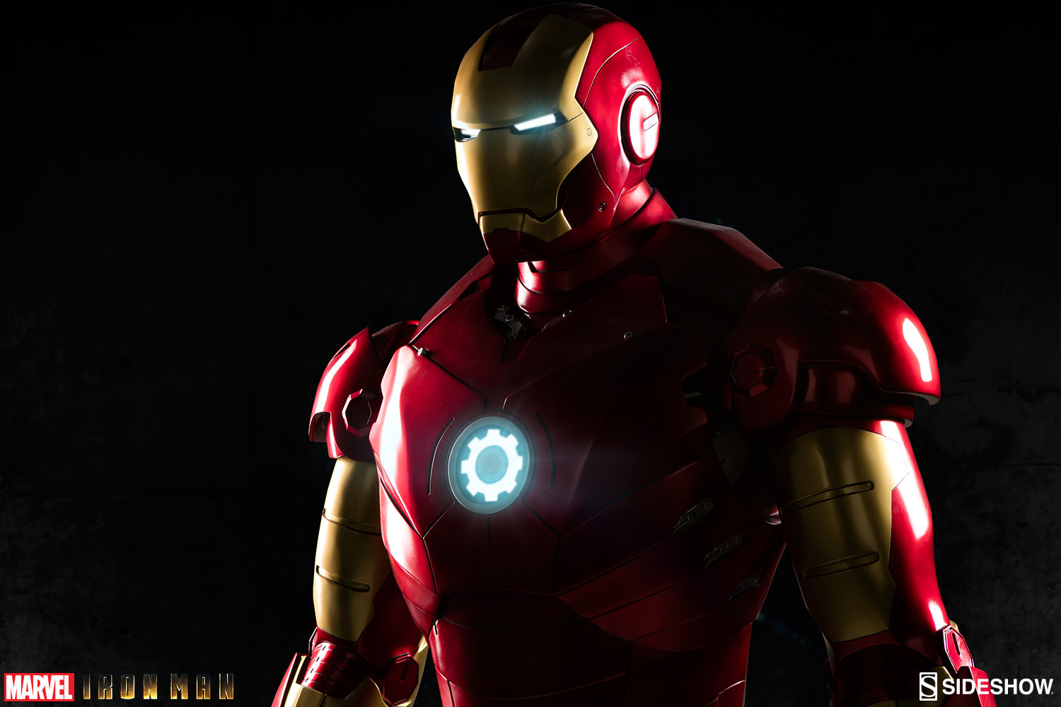 Marvel Iron Man Mark III Life Size Figure by Sideshow Collec         Iron Man Mark III Life Size Figure